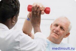 Ишемический инсульт лечебная физкультура